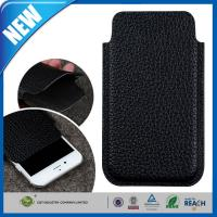 Quality Synthetic Sleeve iPhone 6 Plus Protective Case , Ultra Slim Executive Leather Pouch for sale