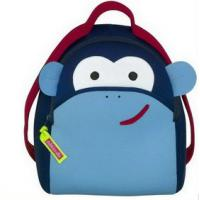 China Custom Neoprene Products Funny Cute Monkey Neoprene Backpack For Kids on sale