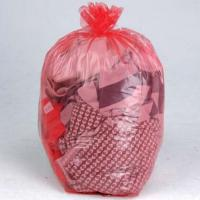 Customized Water Soluble Laundry Bags , Polyvinyl Alcohol Hospital Wash Bag
