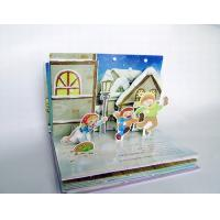 Children's Pop-up Book with Visual Effect