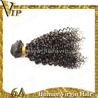 Quality 2014 Hot Sale Top Quality Virgin Indian Hair 22inch Afro-Curly Human Hair Wefts for sale