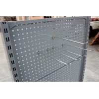 China Customized Supermarket Display Shelving , Convenience Store Display Racks Double Sided on sale