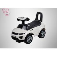 Quality Simple / Fun Kids Ride On Cars , Steering Wheel Baby Ride On Toys For Physical Exercise for sale