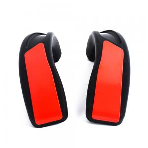 China High quality memory protective round Red pu foam Auto Handrail for projectile tube foam on sale