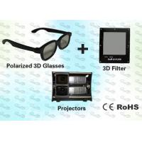 Quality 3D Polarized Glasses with Trolley and 3D Projector for Home Theater for sale