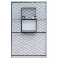 Quality Sliding Service Security Wire Mesh Window Guard , Wire Mesh Security Panels For Windows for sale