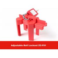 Quality CE Approval Corrosion Resistance OSHA Standard Adjustable Ball Valve Lockout for sale