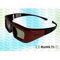 Quality Cinema IR Active shutter adult 3D glasses GT100, iron red color for sale