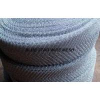 Quality Crimped / Corrugated Knitted Wire Mesh Round / Flat Wire Stainless Steel / Inconel 600 & 601 / Monel 400 for sale