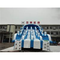 Quality Giant Inflatable Water Slides For Swimming Pool , Adult Inflatable Water Park Slide for sale