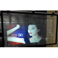 Quality Holographic Projection Foil Transparent Rear Projection Screen Film for sale