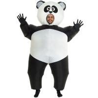 Quality Inflatable Panda Costumes Halloween Party Suit Fat Blow Up Balloon Adult Funny for sale