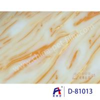 Quality Weilaiyi Marble PVC Coating Window Decorative Film 0.12-0.18mm Thickness for sale