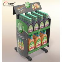 Quality Drive Sales Food Store Supply Metal Display Rack Tiered Crisp Sauce Display Stands for sale