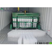 Quality ABM-15T Industrial Ice Block Machine Low Electric Power Consumption for sale