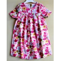 Quality Summer 1 to 6year cotton printed  dresses for  Baby  girls for sale