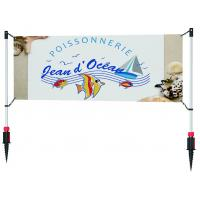 Quality Post Coated Perforate Outdoor Advertising BannersPVC Mesh Stand Light Weight for sale