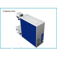 Buy Portable Plastic Pipe Fiber Laser Engraving Machine Deep Engraving 30w 50w 100w at wholesale prices
