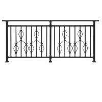 Quality YT006 Terrace railing designs metal railing for balcony Hot-dipped Galvanized railing for balcony railing for sale