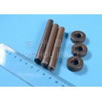 Quality 95% Alumina Ceramic Shaft and bearings Brown Color Pump Components Circulating Pumps High Anti-abrasion for sale