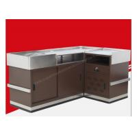Buy Modern Shop Cash Counter Metal Unfolding Checkout Stand OEM ISO9001 at wholesale prices