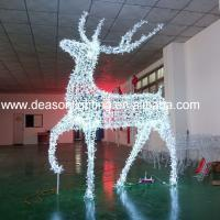 Quality Led Christmas reindeer outdoor decoration for sale