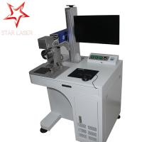 High Precision Metal Marking Machine , PVC Pipe Fiber Laser Marking System