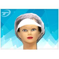 China Peaked cap , made from non - woven fabric , white / blue / green , CE  certificated on sale