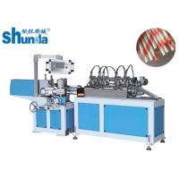 Quality Environmentally Friendly High Speed Paper Tube Machine With Multi - Blades Cutting for sale