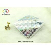 Quality 20mm Round Shape Disposable Holographic Sticker Paper With Custom Logo for sale