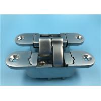 Quality Zinc Alloy Adjustable 3D 180 Degree Concealed Hinge Right Open 30x110 mm for sale