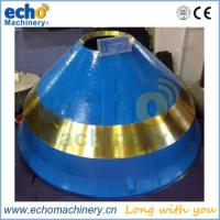 China Symons cone crusher concave and mantle for aggregate plant on sale
