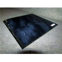 Quality Black PVC Wall Profiles Hot Stamping Decorative Wall Cladding Strip for sale