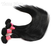 Quality Malaysian Straight 6A Virgin  Hair extensions No tangling No shedding for sale