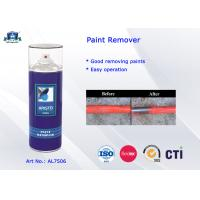 Quality 400ml / 1L Canned Paint Remover Aerosol Spray for Machinery Maintaining and Decoration Industry for sale