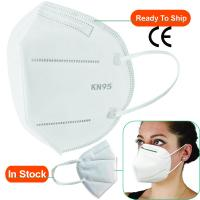 Quality Anti Dust KN95 Mask Filter Non Woven Facial Respirator Disposable 3 Ply Face Mask for sale