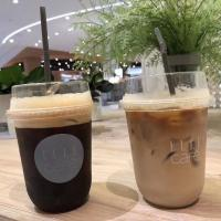 China Food Grade Pet Coffee Disposable Plastic Cups 500ml For Cold Cafe Customized Logo on sale