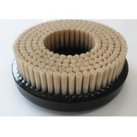Quality Flat Surface CNC Deburring Brushes 120 Grit Aluminum Oxide Bristle Material for sale