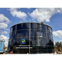 Quality Bolted Glass Fused To Steel Water Storage Tanks Capacity From 20 M³ To 18000 M³ for sale
