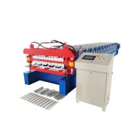 Quality Corrugated And Trapezoidal Double Layer Roll Forming Machine Hydraulic Full Automatic for sale