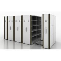 Quality Manual Assist Push - Pull Rolling Mobile Shelf Storage Unit With 2 Bays for sale