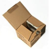 China Custom Brown Cardboard Paper Sheets , Shipping Boxes Cardboard on sale