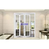 Quality Double Tempered Glazing External Folding Doors With Sound Insulation And Heat Insulation for sale