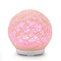 China Home decor Rattan ball Portable USB Arroma Diffuser handcraft Essential Oil Diffuser on sale