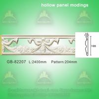 Quality Polyurethane Decorative center hollow mouldings for light decoration for sale