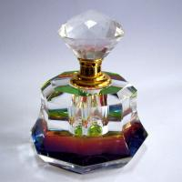 Quality Nickel Free Crystal Perfume Atomizer Crystal Perfume Bottle With Stopper for sale