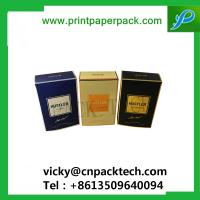 Quality Custom New Design Folding Rigid Cigarette  Paper Boxes Color Printed Cosmetic Box for sale