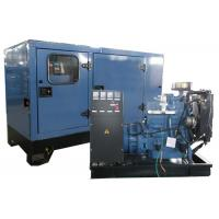 Quality Electric start diesel Silent Generator Set 50kva blue color with Lovol motor for sale