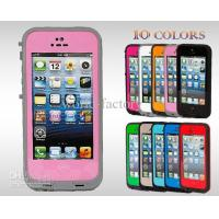 China Lime - Black Waterproof Cell Phone Cases , Redpepper Dirt Proof Case For Iphone 5 5G on sale