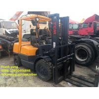 Buy second hand  TCM Forklift 3 Ton  , tcm used 3 ton diesel forklift for sale at wholesale prices
